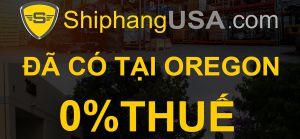 Mua hàng 0% TAX tại kho Oregon